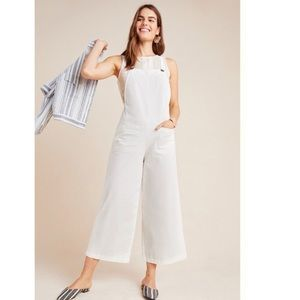 NWT Anthropologie Brianna Overall Jumpsuit